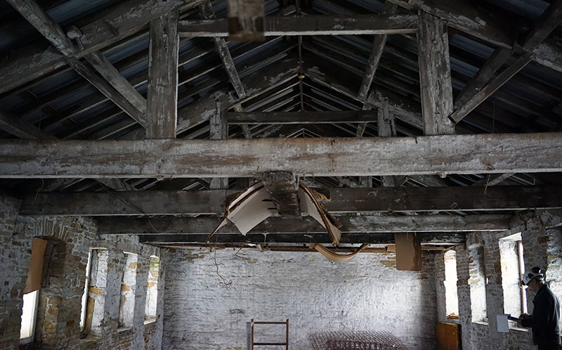 Old mill structural inspection
