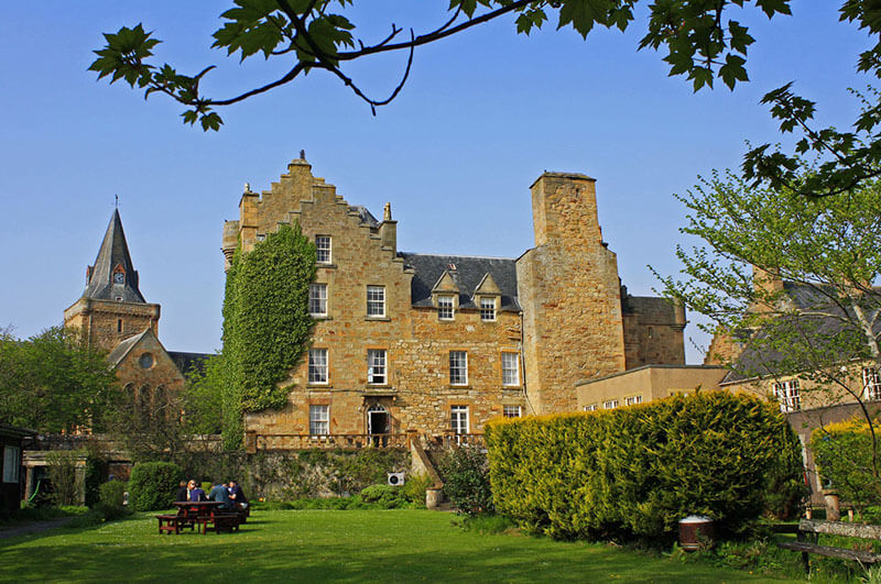 Dornoch Castle Hotel in Scottish Highlands