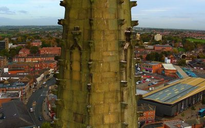 Wakefield Cathedral Spire Survey- Wakefield, West-Yorkshire